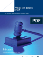 Rechtliche Richtlinien IT-Sicherheit