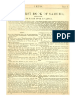 The First Book of Kings (the First Book of Samuel) (With Haydock Commentary)
