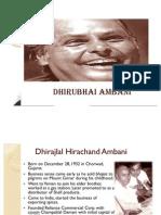 Biography Dhirubhai Ambani