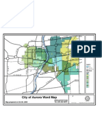 City of Aurora Illinois Ward Map