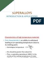 Lec 8 Super Alloys Intro