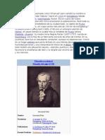Emmanuel Kant Filosofia