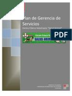 Plan de Gerencia de Servicios Para La Clinica Veterinaria