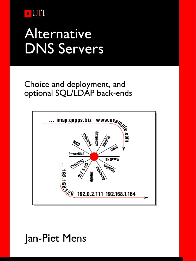 Alternative DNS Servers - Choice and Deployment and Optional