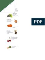 Ghicitori Despre Fructe Si Legume