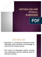 Naturalism and Ethical Darwinism