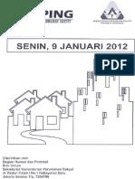 Scan Kliping Berita Perumahan Rakyat 9 Januari 2012