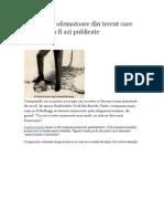 10 Reclame are Din Trecut Care Nu Ar Putea Fi Azi Publicate