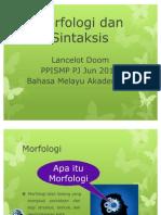 Morfologi Dan Sintaksis