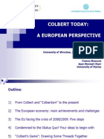 Colbert Today - A European Perspective