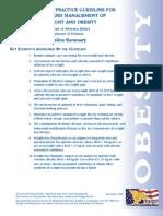 Va Practice Guideline for Obesity