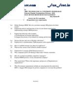 r5-312mba -Strategic Human Resources Management