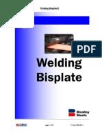 Welding Bisplate
