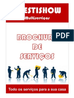 Brochura serviços Prestishow