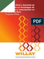 Estudio de oferta y demanda de capacitación en tecnologías de información y comunicación en el norte del Perú Programa Willay