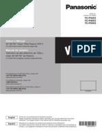 Panasonic Plasma Hdtv VieraTC-P50X3 Manual