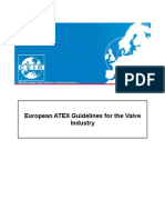 European ATEX Guidelines for the Valve Industry
