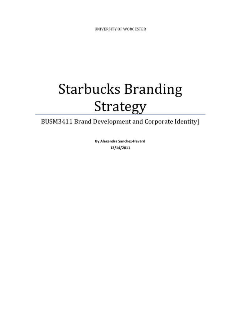 assignment starbucks update starbucks brand