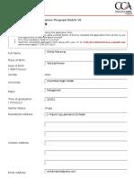 GTP Application Form 2012