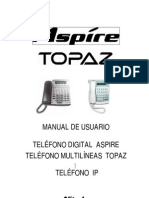 Manual Telefono Nitsuko