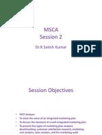 MSCA 2_Dr.Satish