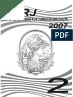 UFRJ vESTIBULAR (2006-7) 2007 prova 2