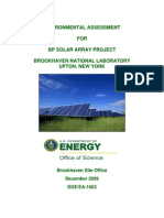 Final Final Ea - Bp Solar Project