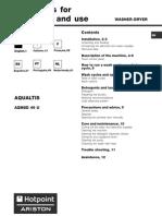 Manual Ariston