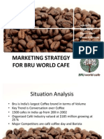 Presentation of Marketing Strategy for Bru World Café