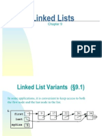 More Linked Lists