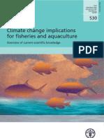 Implicaciones Del Calentamiento Global en La Pesca