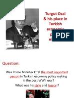 presentation - Özal