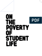 Mustapha Khayati - On the Poverty of Student Life
