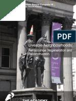 The Academy of Urbanism Glasgow Congress Report Final 2011