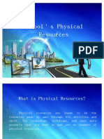 School's Physical Resources
