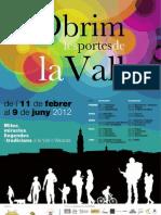 Obrim Les Portes de La Vall 2012