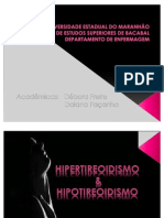 Enfermagem Medico Cirurgico - Hiper e Hipo