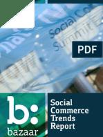 Social Commerce Trends Report - Europe 2012