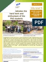 Info-Brief 5 DESIRE PhD Students 1