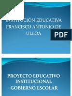 Diapositivas Gobierno Escolar Ulloa