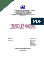 Trabajo de La Comunicacion No Verbal