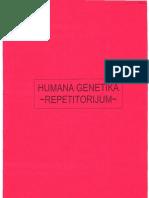 HUMANA GENETIKA - REPETITORIJUM