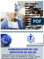 CONFERENCISTA INTERNACIONAL COLOMBIA HUMANIZACION SALUD