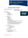 Shoulder Impingement Guidelines