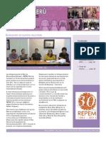 Boletin REPEM - Perú