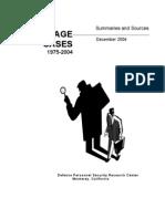 Espionage Cases 75-04