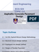 ECG524-Topic 2a-Asphaltic Concrete Pavement Design