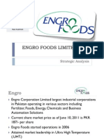 Engro Foods Strategic Management Final Presentation