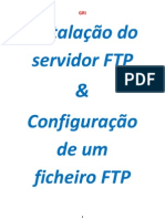 instalação e configuração do servidor ftp-Walter