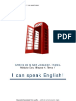 Ámbito comunicación. Inglés